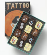 Coco Tattoo Colection - 12 Chocolate Box